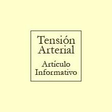 La Tensión Arterial - Artículo informativo de Rafael Sánchez - Naturópata