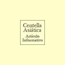 Centella Asiática - Artículo informativo de Rafael Sánchez - Naturópata
