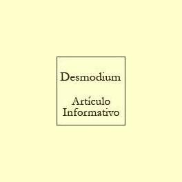 Desmodium - Artículo informativo de Rafael Sánchez - Naturópata