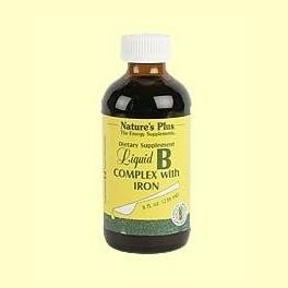 Liquid B-Complex - Con Hierro - Nature's Plus - 236 ml