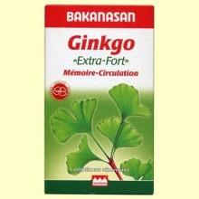 Ginkgo - Extra-Fort - Memoria-Circulación - Bakanasan - 60 comprimidos