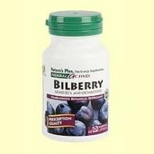 Bilberry - Arándanos - Natures Plus - 60 vegicaps