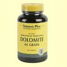 Dolomita - Calcio y Magnesio - Nature's Plus - 300 comprimidos