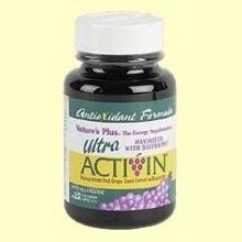 Ultra ActiVin - Semilla de uva negra - Nature's Plus - 30 cápsulas