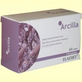 Arcilla Fitotablet - 60 comprimidos de 450 mg - Eladiet