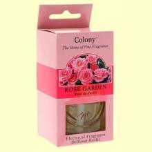Recambio para el difusor Electrico de Fragancia - Aroma Rosa - 34 ml - Colony