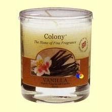 Vela de Cera Perfumada para el hogar - Colony - Aroma Vainilla