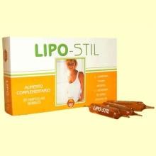 Lipo-Stil - 20 ampollas - Laboratorios Nale