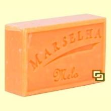 Pastilla Jabón Natural Melón - 125 gramos - Marselha