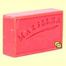 Pastilla Jabón Natural Cereza - 125 gramos - Marselha