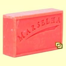 Pastilla Jabón Natural Fresa - 125 gramos - Marselha