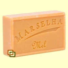 Pastilla Jabón Natural Miel - 125 gramos - Marselha