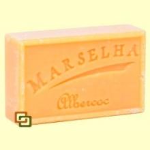 Pastilla Jabón Natural Albaricoque - 125 gramos - Marselha