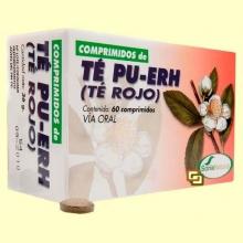 Té Rojo Pu-Erh - 60 comprimidos - Soria Natural
