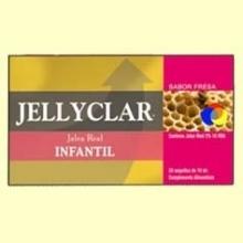 Jalea Real Infantil + Lactoferrina Jallyclar - 20 ampollas - Dieticlar