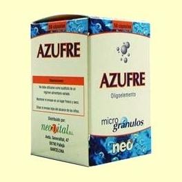 Microgránulos Azufre - 50 cápsulas - NEO