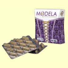 Modela - Reduce la grasa abdominal - 36 cápsulas - Tongil