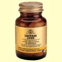 Lactasa 3500 - 30 comprimidos masticables - Solgar