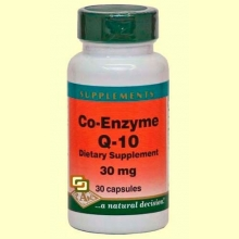 Co-Enzima Q-10 - 30 mg - 30 cápsulas - Bioener