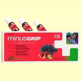 Minusgrip - Para reforzar las defensas - 10 viales - Soria Natural