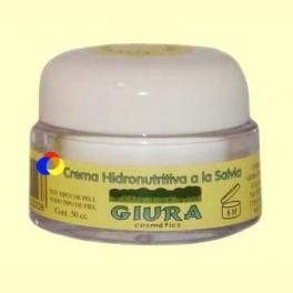 Crema Hidronutritiva a la Salvia - 50 ml - Giura