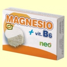 Magnesio + B6 - 30 comprimidos - Neo