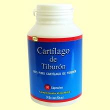 Cartílago de Tiburón - 90 cápsulas - Montstar