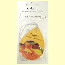 Ambientador de coche y hogar - Colony - Aroma Ripe Mango