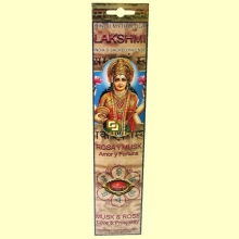 Lakshmi - Aroma Rosa y Musk - 16 barras - Flaires