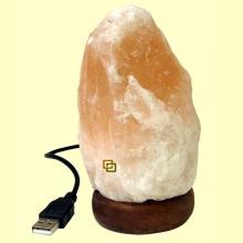 Lámpara de Sal conexión USB - 600 gramos
