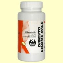 Digestoenzims Nale - Digestiones - Nale Laboratorios - 30 comprimidos