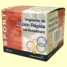 Ungüento de acción rápida - Original Oobediet - 100 ml