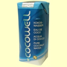Cocowell - Agua de Coco - 330 ml - 100% Natural