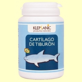 Cartílago de Tiburón 500 mg - 80 cápsulas - Klepsanic