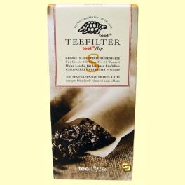 Filtros de Té Extra Finos - 100 filtros tamaño S - Teeli