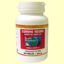 Aceite Semillas de Comino Negro - Sura Vitasan - 60 perlas