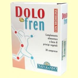 Dolo Fren - Articulaciones - Naturando - 30 comprimidos