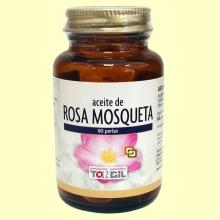 Aceite de Rosa Mosqueta - 60 perlas - Tongil