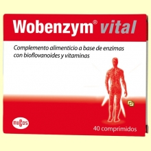 Wobenzym® Vital - 40 comprimidos - Diafarm