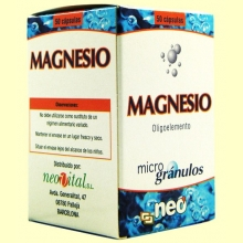 Magnesio - Oligoelementos - 50 cápsulas - NEO