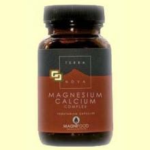 Magnesio Calcio Complex 2:1 - Magnesium Calcium - 100 cápsulas - Terra Nova