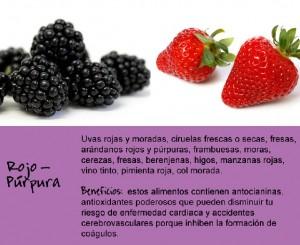 rojo-púrpura
