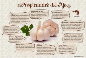 propiedades del ajo