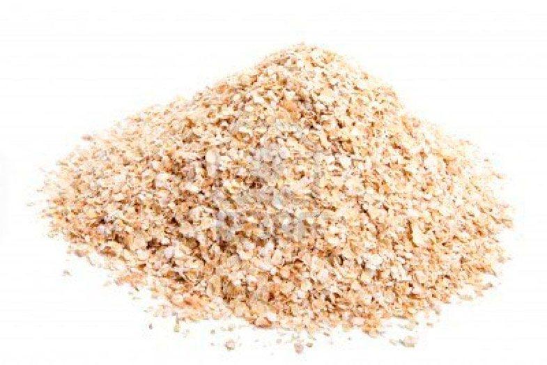 salvado de cereales: avena