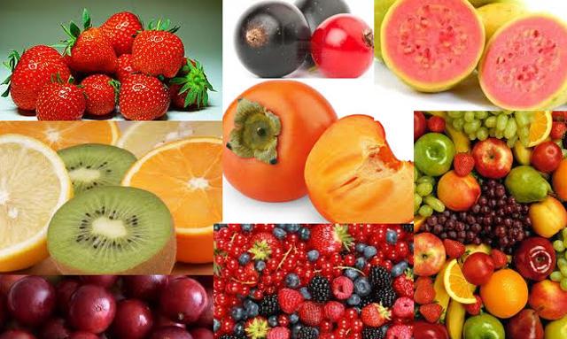 Las vitaminas de las frutas el blog de dietetica online - Alimentos ricos en calcio y hierro ...