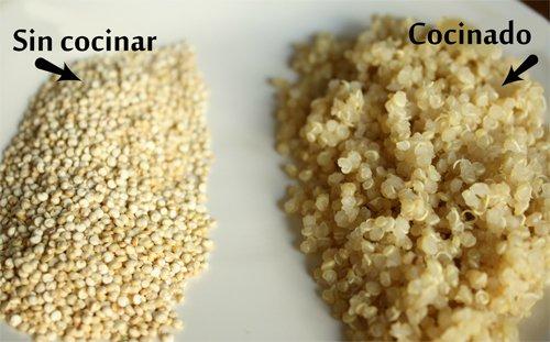 Desayunar quinoa