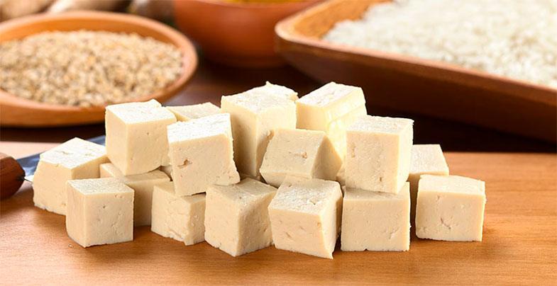 Tofu o seitán