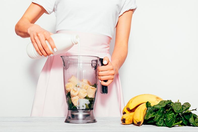 batidos de frutas saludables