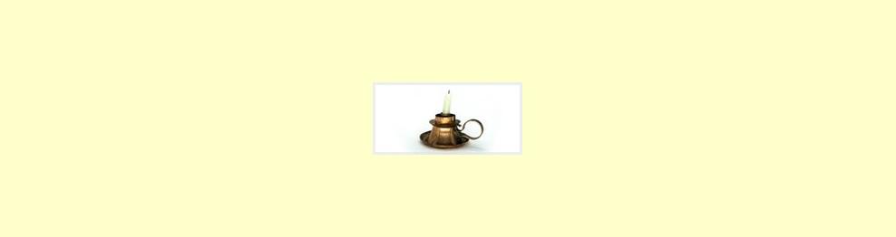 Lámparas de sal, minerales y para velas