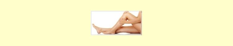 Cosmética para piernas y pies
